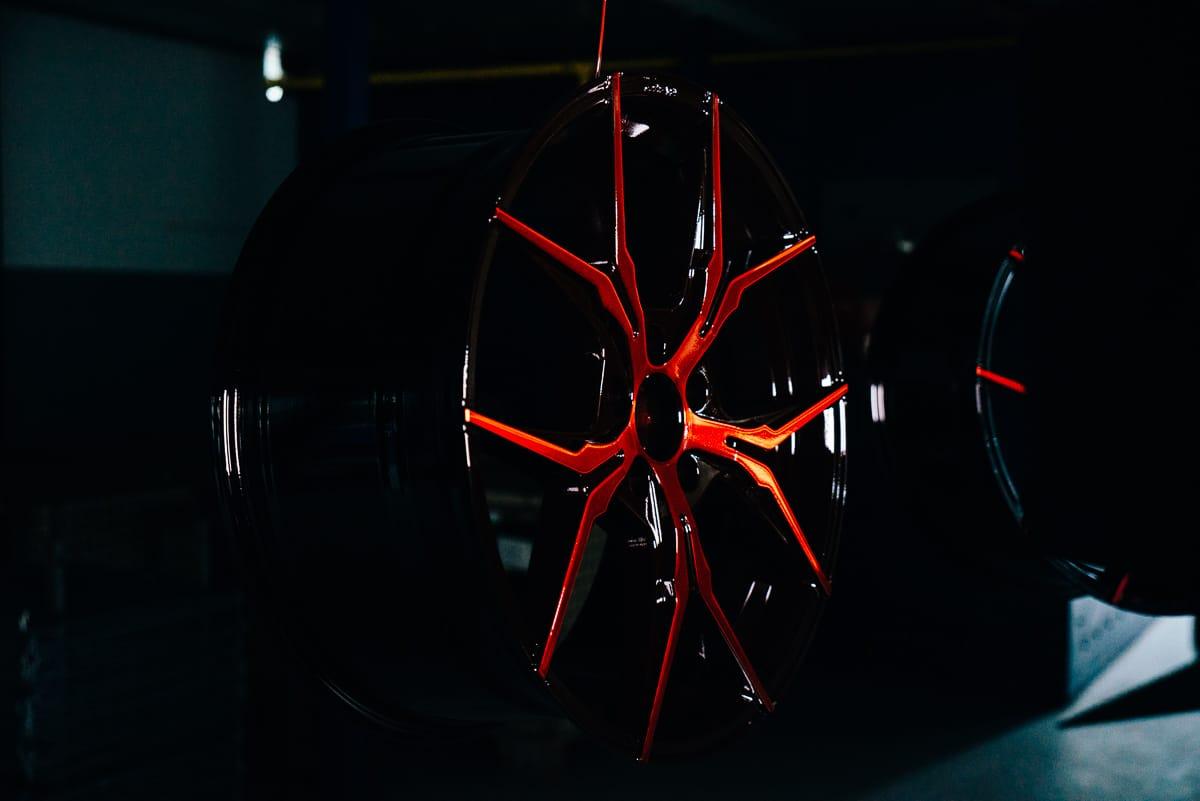 Pulverbeschichtung Felgen Smartcoat Radschraube Radmutter Radventil